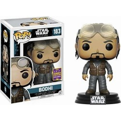 POP STAR WARS: ROGUE ONE - BODHI #183 SDCC 2017 VINYL BOBBLE-HEAD FIGURE