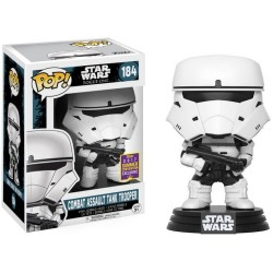 POP STAR WARS ROGUE ONE: COMBAT ASSAULT TANK TROOPER #184 SDCC 2017 BOBBLE-HEAD VINYL FIGURE
