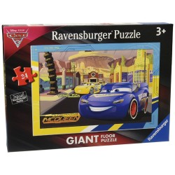 RAVENSBURGER ΠΑΖΛ - ΔΑΠΕΔΟΥ 24 ΤΕΜ. DISNEY CARS 3 (05519)