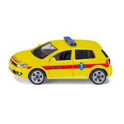 SIKU - ΑΥΤΟΚΙΝΗΤΑΚΙ ΑΣΘΕΝΟΦΟΡΟ VW GOLF 6 (1411)