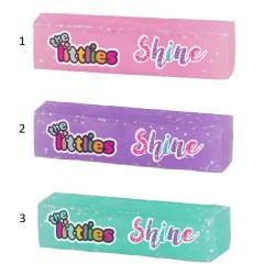 THE LITTLIES ΓΟΜΑ GLITTER SHINE 3 ΣΧΕΔΙΑ (000646786)